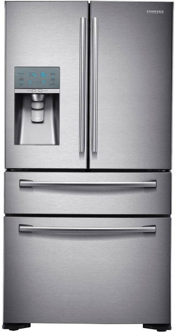 36 Inch Counter Depth 4-Door French Door Refrigerator