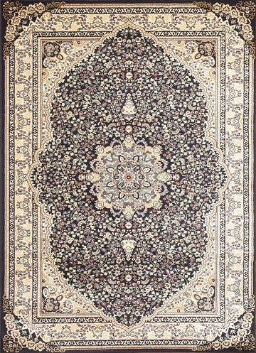 Persian Style Traditional Oriental Medallion Area Rug Empire 750 - Context USA - AREA RUG by MSRUGS