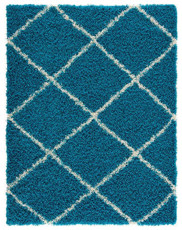 Moon Trellis Shaggy, Contemporary  Area Rug 1050