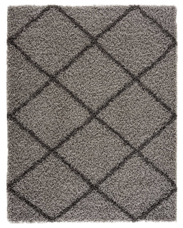 Moon Trellis Shaggy, Contemporary  Area Rug 480