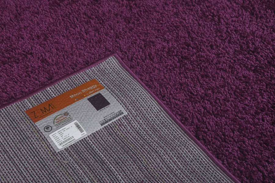 Moon Solid Shag Modern Plush 300 - Context USA - Area Rug by MSRUGS