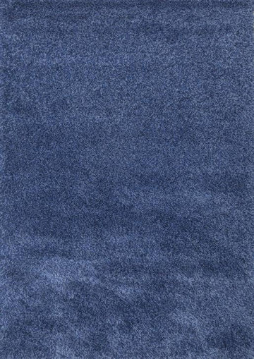 Super Shaggy Area Rug Blue 1810 - Context USA - Area Rug by MSRUGS