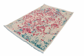 Passion Fruit Vintage Area Rug V015A - Context USA - Area Rug by MSRUGS