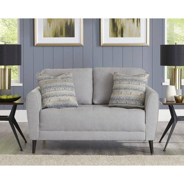 Cardello Pewter Loveseat