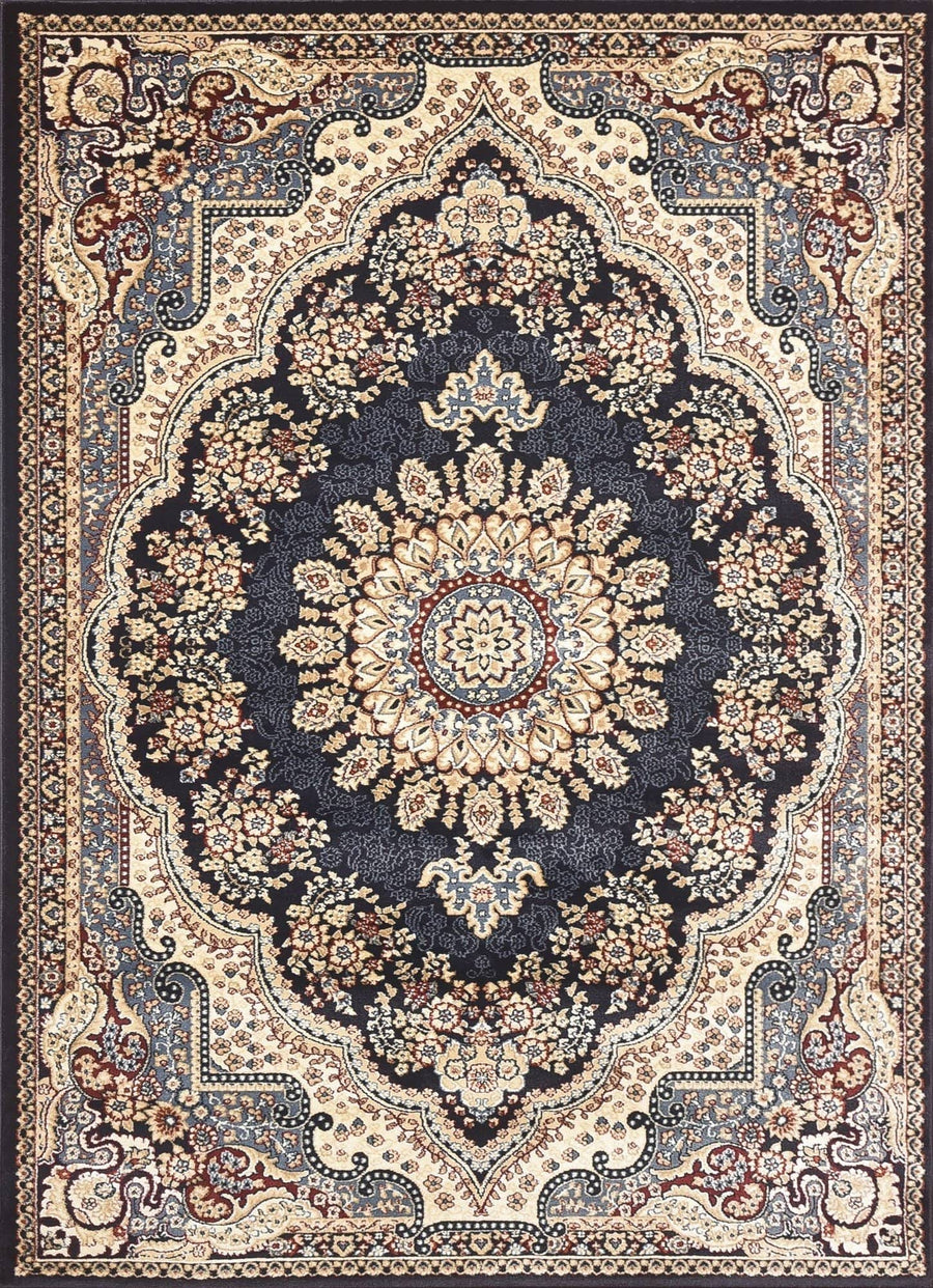 Persian Style Traditional Oriental Medallion Area Rug Empire 1050 - Context USA - AREA RUG by MSRUGS