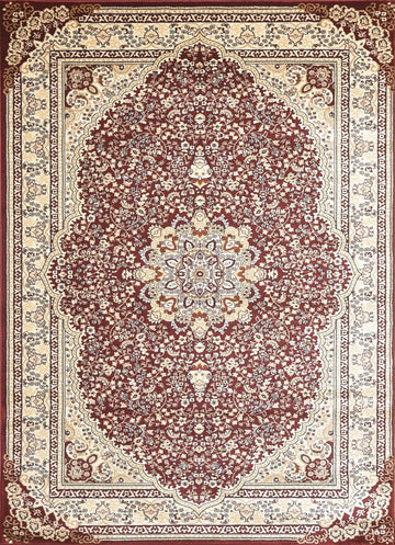 Persian Style Traditional Oriental Medallion Area Rug Empire 800 - Context USA - AREA RUG by MSRUGS