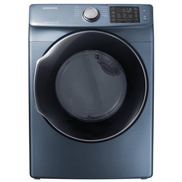 7.5 cu. ft. Gas Dryer with Steam in Azure Blue, ENERGY STAR