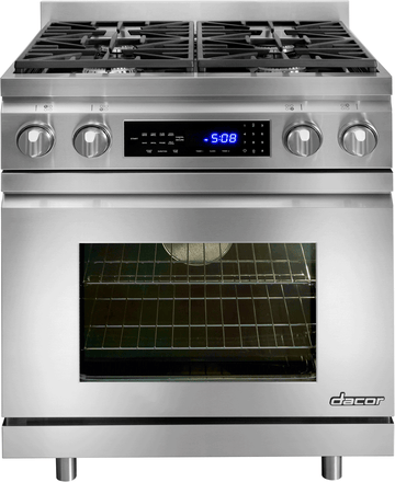 DR30DHNG 30 Inch Pro-Style Freestanding Dual-Fuel Range with 4 Sealed/Simmer Burners