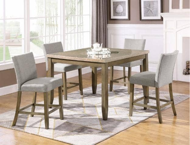 5- PIECE MIKE DINING TABLE SET