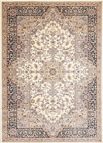 Persian Style Traditional Oriental Medallion Area Rug Empire 450 - Context USA - AREA RUG by MSRUGS