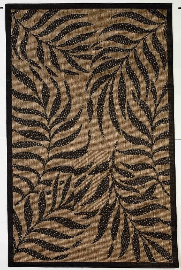 Tropical Indoor/Outdoor Rugs Flatweave Contemporary Patio, Pool, Camp and Picnic Carpets FW 513 - Context USA - Area Rug by MSRUGS