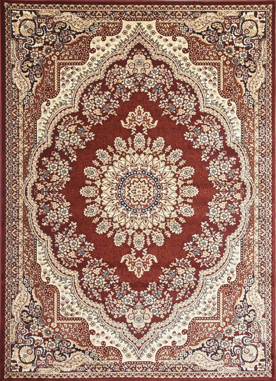Persian Style Traditional Oriental Medallion Area Rug Empire 1100 - Context USA - AREA RUG by MSRUGS