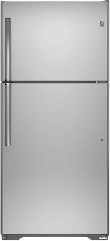 GE 30 Inch Top-Freezer Refrigerator with 18.2 cu. ft. Capacity