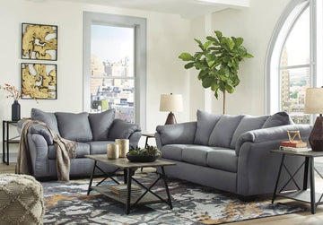 **SPECIAL** Darcy Steel Living Room Set