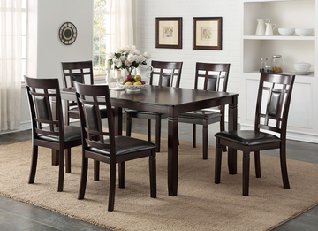 HH2325 - Dinning Table with 6 Chair Set