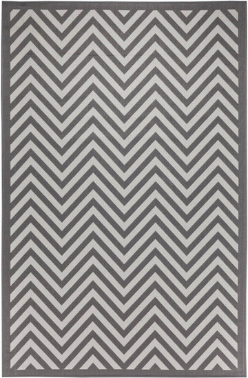 Chevron Indoor/Outdoor Rugs Flatweave Contemporary Patio, Pool, Camp and Picnic Carpets FW 801 - Context USA - Area Rug by MSRUGS