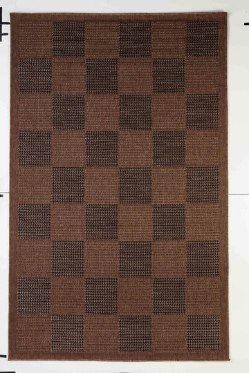 Chess Indoor/Outdoor Rugs Flatweave Contemporary Patio, Pool, Camp and Picnic Carpets FW 525 - Context USA - Area Rug by MSRUGS