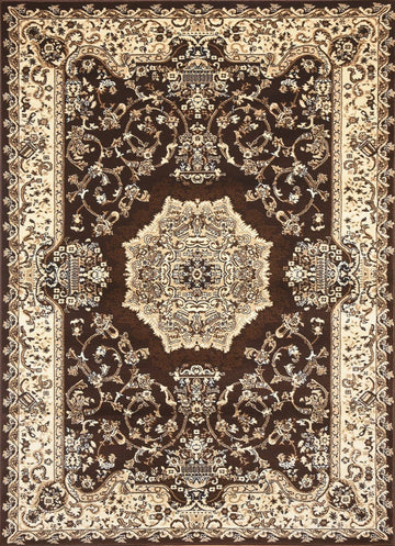 Persian Style Traditional Oriental Medallion Area Rug Empire 100 - Context USA - AREA RUG by MSRUGS