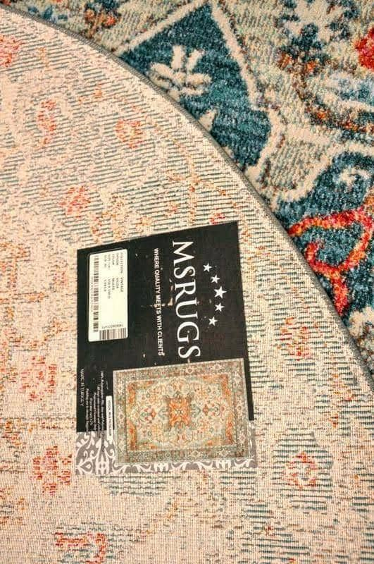 Citrus Peel Vintage Area Rug V022A - Context USA - Area Rug by MSRUGS