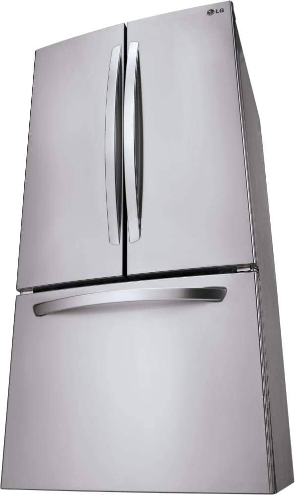 LG 33 Inch French Door Refrigerator with Linear Compressor, Smart Cooling