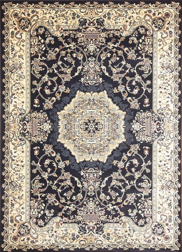 Persian Style Traditional Oriental Medallion Area Rug Empire 150 - Context USA - AREA RUG by MSRUGS