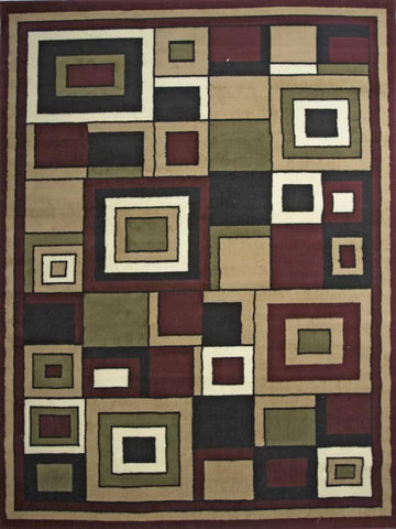 Karyn Geometric Area Rug Nairobi 2328 - Context USA - Area Rug by MSRUGS