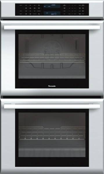 Thermador Masterpiece Series 30 Inch Double Electric Wall Oven with 4.7 cu. ft. True Convection Upper Oven