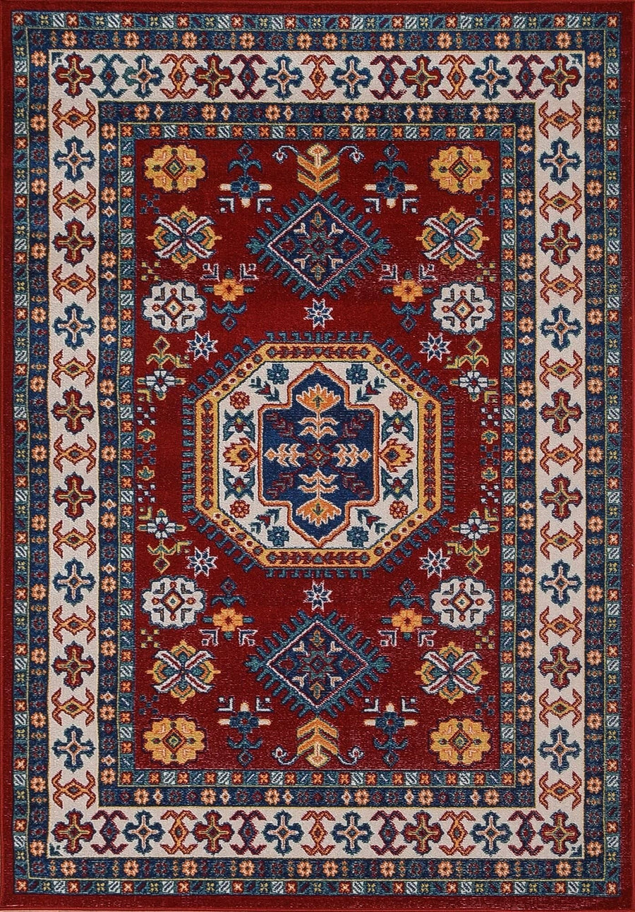 Persian Style Traditional Oriental Medallion Area Rug KLM 70 - Context USA - AREA RUG by MSRUGS