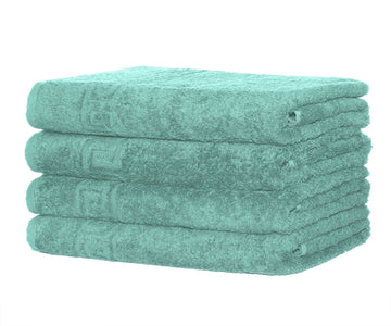 4 Piece 100% Cotton Hand/Bath Towel with Color Options - Context USA - Towel by Context