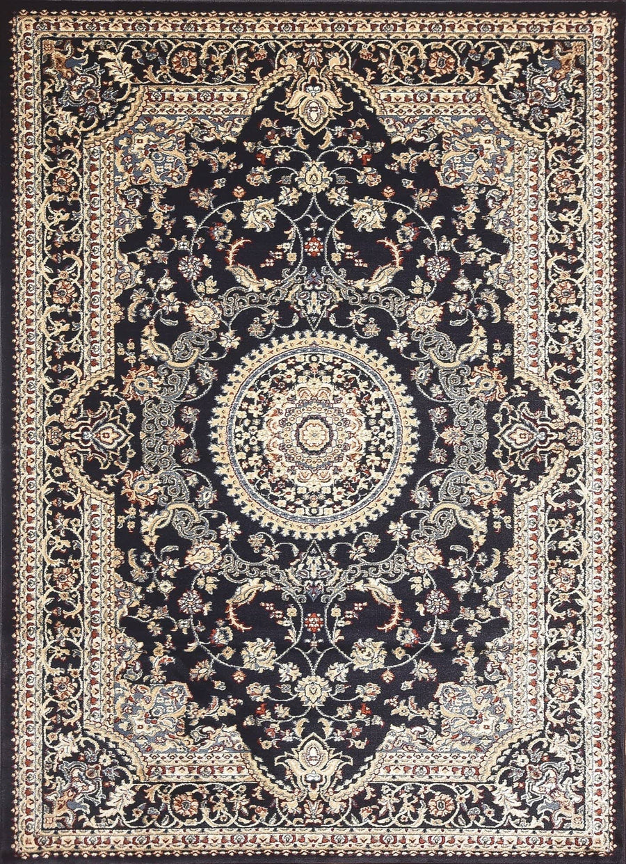 Persian Style Traditional Oriental Medallion Area Rug Empire 900 - Context USA - AREA RUG by MSRUGS