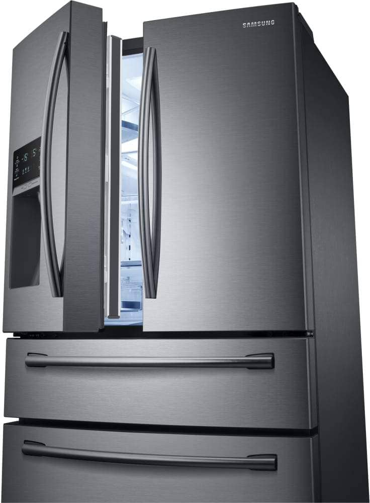 SAMSUNG 36 Inch 4-Door French Door Refrigerator with Spillproof