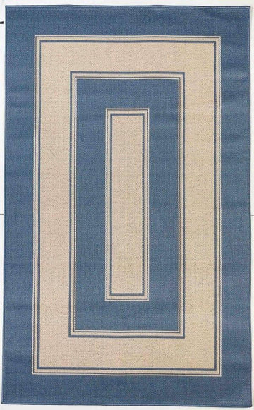 Cottage Indoor/Outdoor Rugs Flatweave Contemporary Patio, Pool, Camp and Picnic Carpets FW 532 - Context USA - Area Rug by MSRUGS