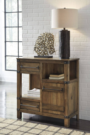 Brown Roybeck Accent Cabinet