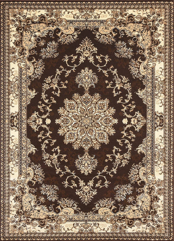 Persian Style Traditional Oriental Medallion Area Rug Empire 250 - Context USA - AREA RUG by MSRUGS