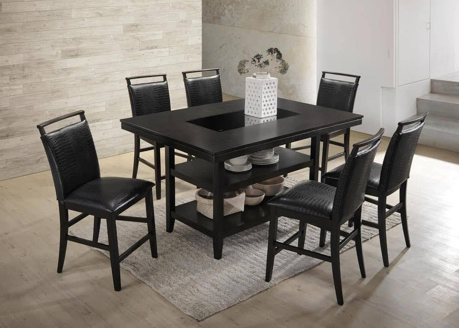 Tommy - Counter Height Table with 6 Chairs