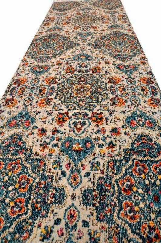 Blossom Echo Vintage Area Rug V067A - Context USA - Area Rug by MSRUGS