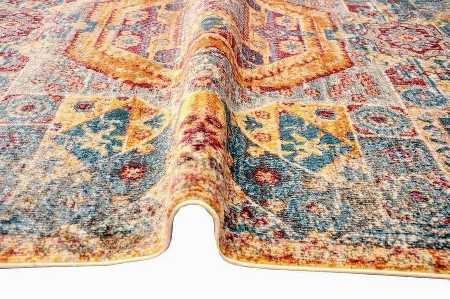 Sunrise Nectar Vintage Area Rug V068A - Context USA - Area Rug by MSRUGS
