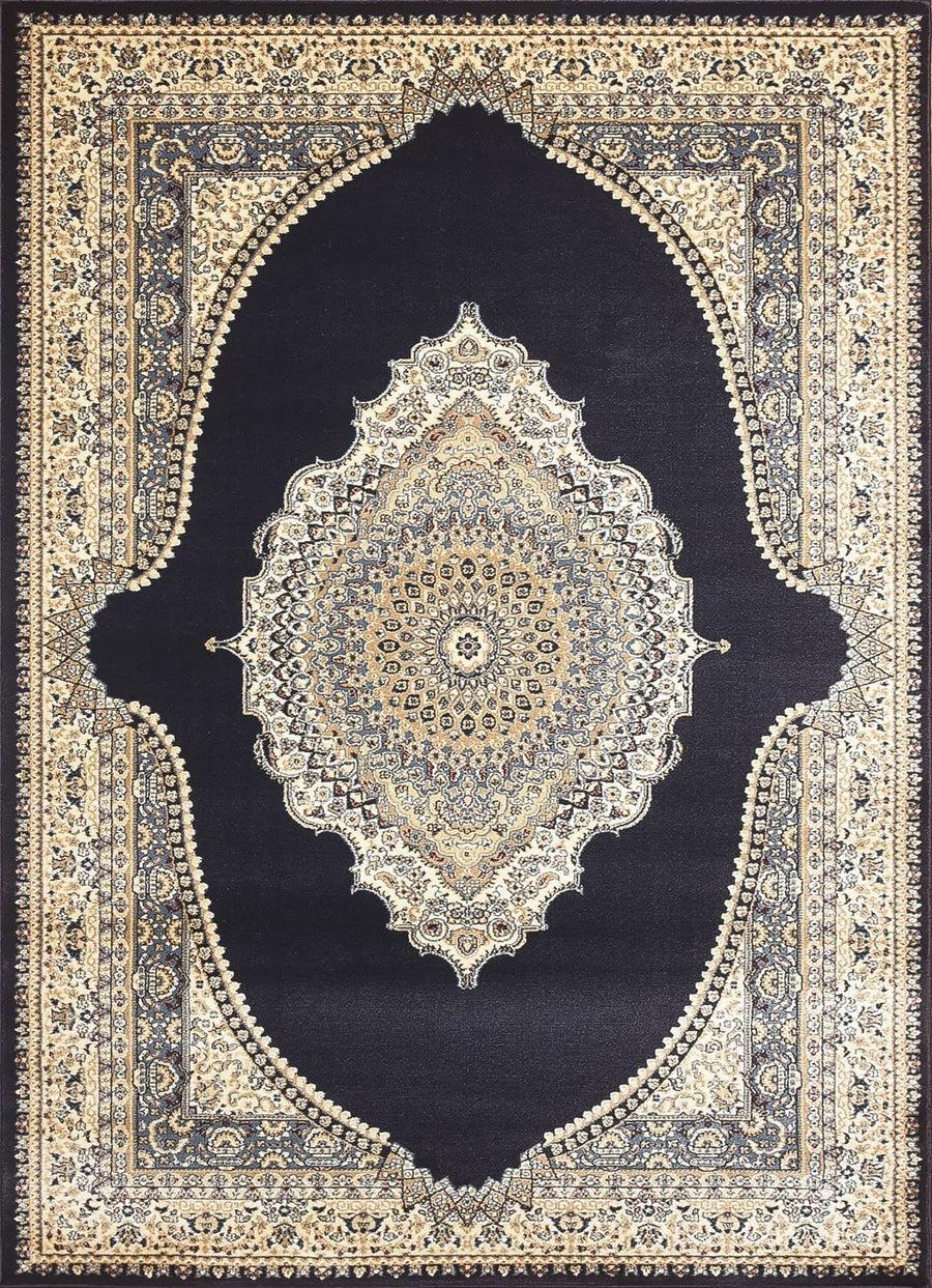 Persian Style Traditional Oriental Medallion Area Rug Empire 600 - Context USA - AREA RUG by MSRUGS