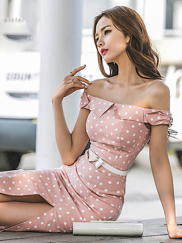 Kinnsie Dress In Pink