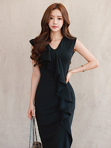 Brandalyn Dress In Black