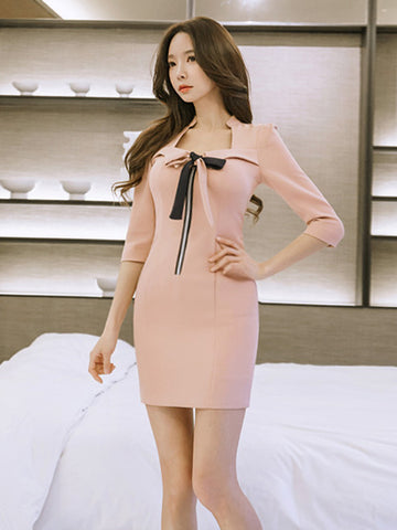 LUANA BOW ELEGANT DRESS