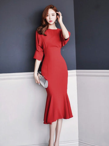 Regi Red Dress