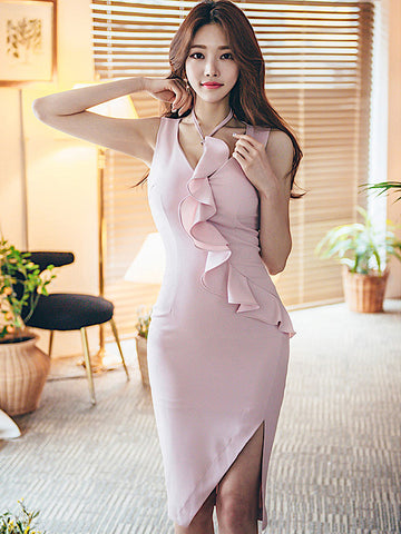 Kymme Dress In Pink