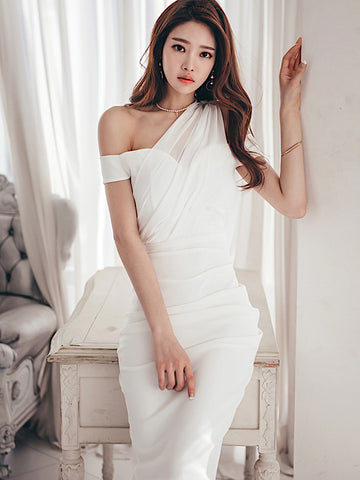 Ethelin Dress In White