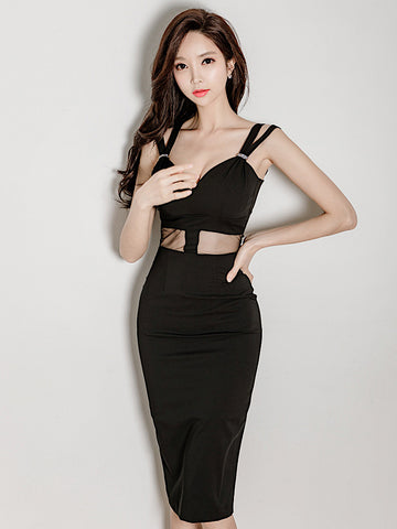 Moyra Dress In Black