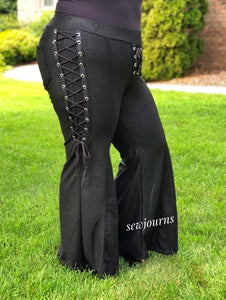 Zappa Pants Faux Leather and Lace-Up Hack!