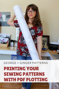Printing your Patterns with PDF Plotting