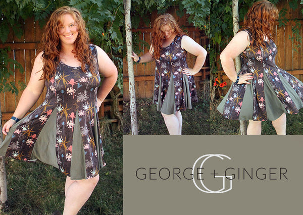 The SoTa Tunic and Dress PDF Sewing Pattern