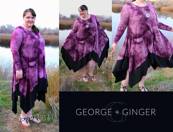 The Ginger Dress PDF Sewing Pattern