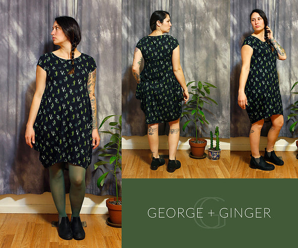 The December Dress (Women's Sizes) PDF Sewing Pattern